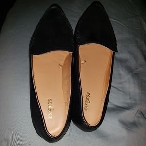 Women dress slip on shoes